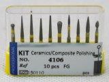 Dental Bur Kit - Ceramics/Composite Polishing