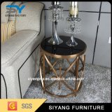 Silver Modern Simple Design Round End Table