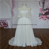 2 in 1 Chiffion Skirt Lace Bridal Dress