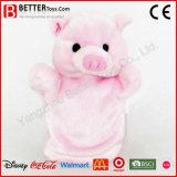 Soft Toy Stuffed Aniaml Plush Pink Pig Hand Puppet