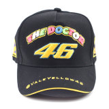 Black Color New Model Racing Hat for Motorcycle Riders (ASC03)