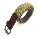 Top Quality Customized Braided Stretch Nylon Belt