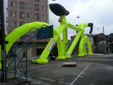 Giant Advertising Inflatable Bike for Sports Games