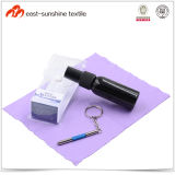 Promotional Plastic Bottled Eyeglass Cleaning Spray with Microfiber Cloth