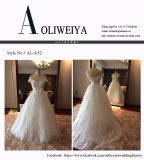 Wholesale Real Sample Wedding Dress with Appliques