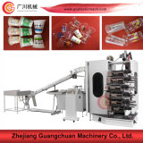 Plastic Cup Printing Machine with Inclined Type Feeding Device