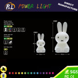 Hot-Selling Animal Lighting Miffy Rabbit for Easter Decoration with LED Lights
