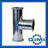 Stainless Steel Tri-Clamp Long Tee 3A DIN Sanitary Pipe Fittings