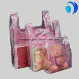 LDPE/HDPE Printing Handling T-Shirt Packaging Shopping Plastic Bags
