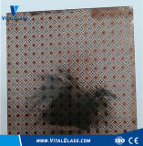 3-12mm Bronze Patterned Glass/Colored Figured Glass with Ce Certificate