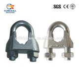 Electronic Galvanized Malleable DIN 741 Wire Rope Clip