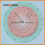 Pregnancy BMI Wheel Calculator 4.25 Inch
