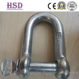 E. Galvanized Large Dee Shackle, JIS D Type Shackle