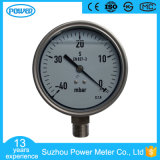 100mm Full Stainless Steel Pressure Gauge with Glycerin Oil