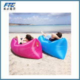 Colorful Polyester Lazy Air Sofa Bed with Safety Lock