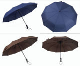 Luxury Branded Design Automatic Foldable Travel Umbrella