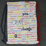Promotional Tyvek Paper Drawstring Bag