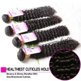 Brazilian Deep Wave Virgin Hair Brazilian Hair Bundles 3PCS Lot100% Curly Virgin Hair Factory Selling Cheap Hair Weave Online