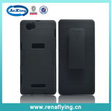 High Quality Plastic Holster Combo Cover for Sony Xperia C1095