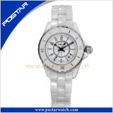 White Ceramic Watch Manufactucturer in Shenzhen with Sapphire Glass