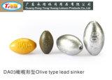 30g Die Casting Olive Fishing Sinker