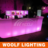 RGB LED Party Events Lighted up Bar Table