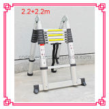 4.4m Aluminum Telescopic Folding Ladder New Design