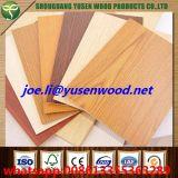 E0 Glue Eco Friendly 18mm Melamine Faced Plywood with Hardwood Core