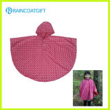 Polyester PVC Children Raincoat with Full Printing Rvc-08