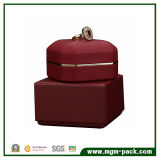Luxury Red LED Light Jewellery Box for Ring