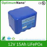 12V 15ah Lithium Iron Phosphate Battery Pack Solar Light