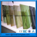 Tinted Reflective Glass for Curtain Wall