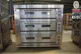 Full Stainless Steel Electric Deck Oven Baking Oven Prices for Sale