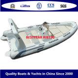 Bestyear Rigid Inflatable Boat of Rib730
