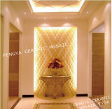 Glazed Ceramic Mosaic, Ceramic for Background Decoration, Leather Ceramic Mosaic