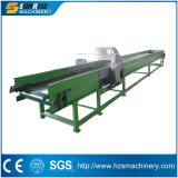 Plastic Recycling Washing Line Sorting Table with Metal Detector