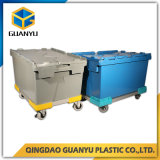Attached Lid Nesting Plastic Storage Container (PK6040)