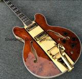 Es335 Semi Hollow Body Archtop Guitar with Bigsby Tremolo (TJ-243)