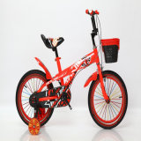 12′′ Children Bicycle with Training Wheels, Steel Frame and Fork
