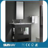 New Wood Veneer Bathroom Cabinet with Good Quality