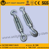 Zinc Plated DIN 1480 Drop Forged Hook - Eye Turnbuckle