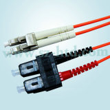 MM Duplex Fiber Optic, Optical Fiber (LC/PC-SC/PC)
