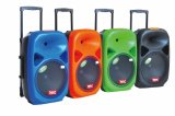 15 Inch Outdoor Trolley Speaker with FM Bluetooth Remote F28