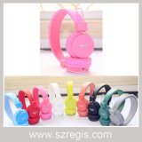 Candy Color Foldable Portable Sport Wireless Bluetooth Headset Earphone