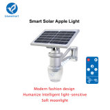 IP65 6W 600-720lm Outdoor Garden Solar Light with Lithium Battery