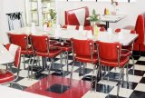 1950s Style Diner Customized Restaurant Furniture Set