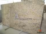 Cheap Yellow Flower Granite Slab for Flooring and Wall Tile