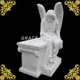Granite Carved Angel for Headstone