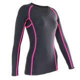 Compression Lycra Running Wear Sports Wear Skins (JAP241)