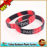 Custom Ink Filled Segmented Silicone Bracelet (TH-7203)